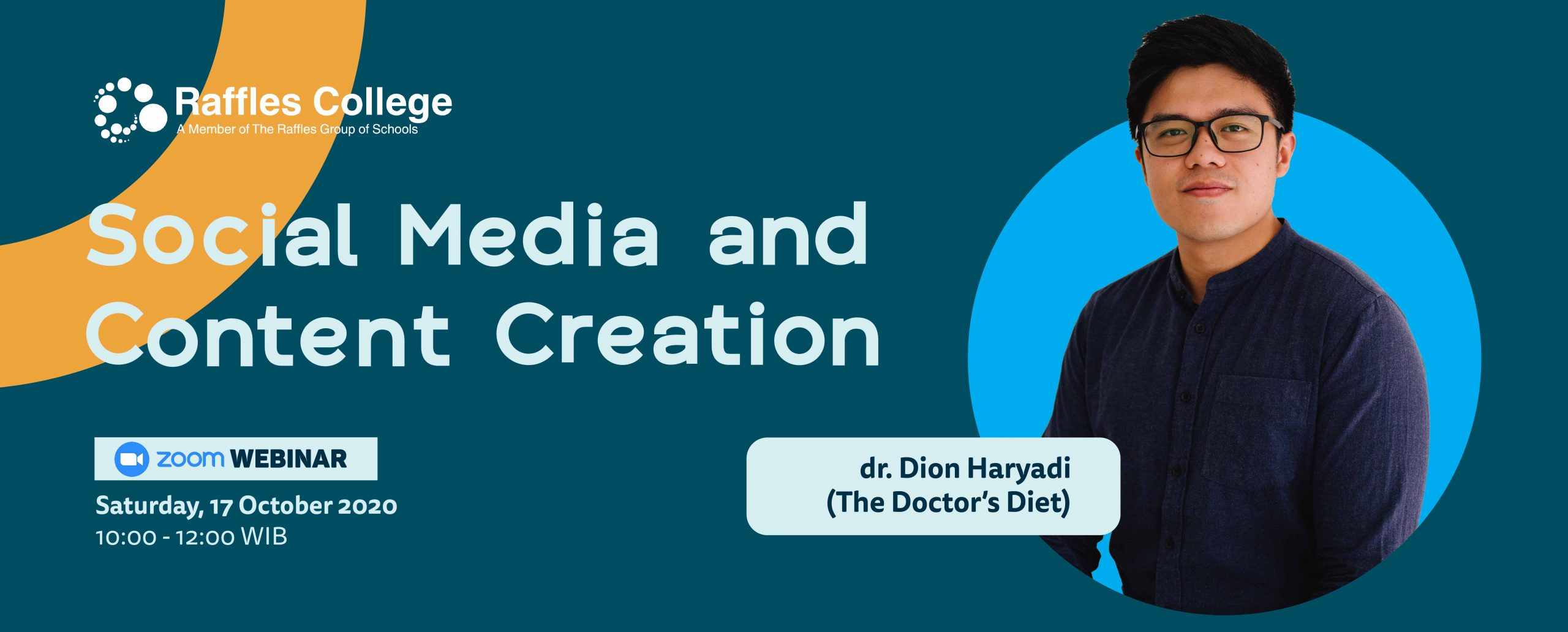 DR. DION WEBINAR : SOCIAL MEDIA AND CONTENT CREATION